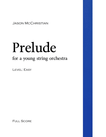 Prelude - for a young string orchestra