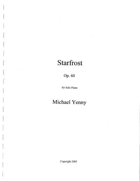 Starfrost, op. 60