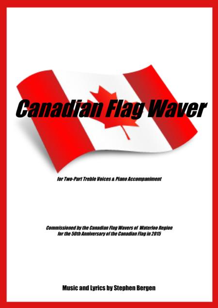 Canadian Flag Waver