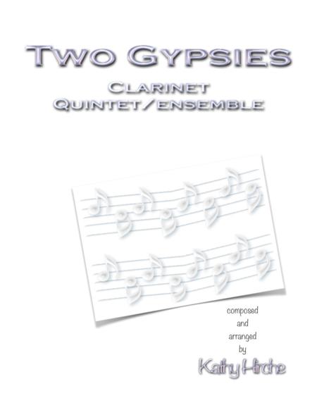 Two Gypsies - Clarinet Quintet/Ensemble