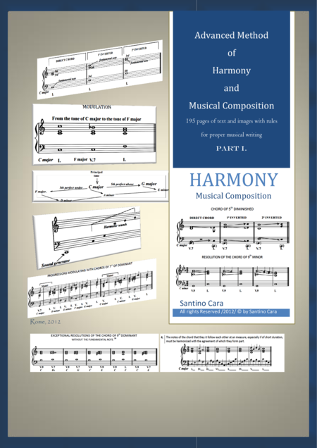 Advanced Method of Harmony and Musical Composition - PART 1
