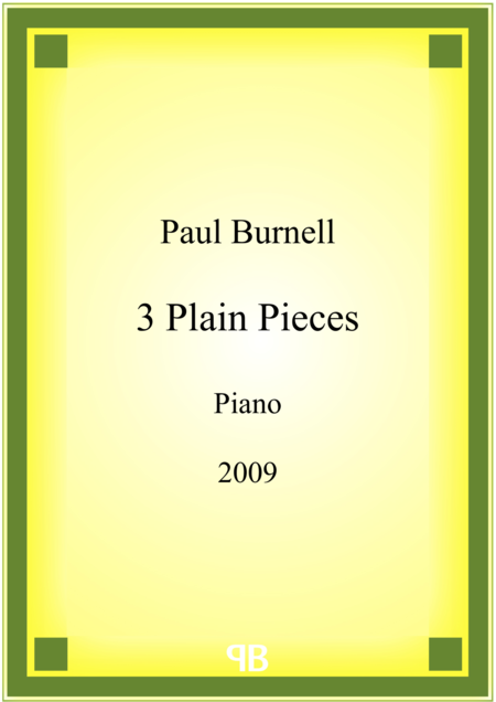 3 Plain Pieces