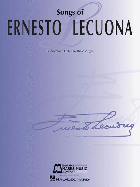 Songs of Ernesto Lecuona