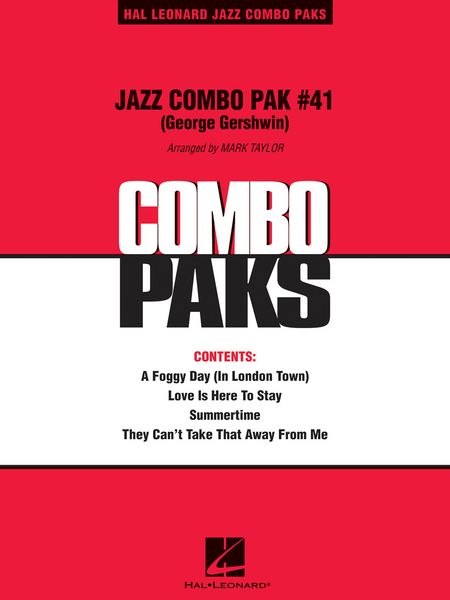 Jazz Combo Pak #41 (George Gershwin)