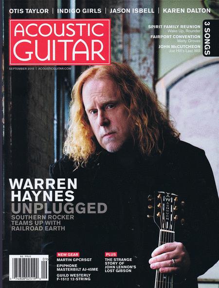 Acoustic Guitar Magazine September 2015