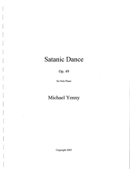 Satanic Dance, op. 49