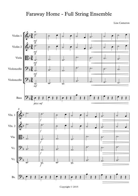 Faraway Home - String Ensemble