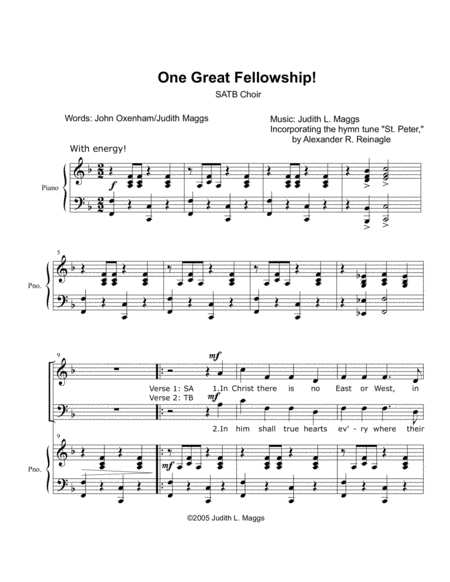 One Great Fellowship
