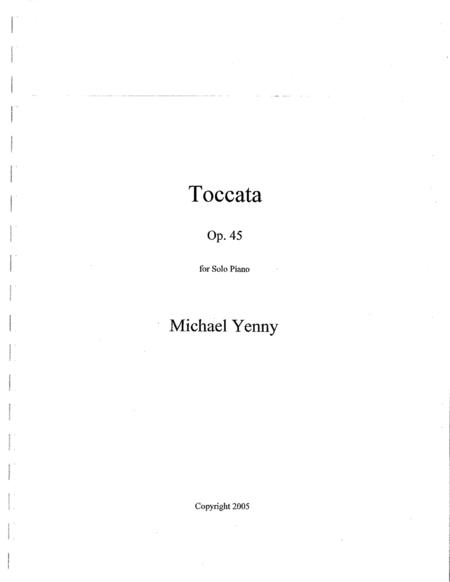 Toccata, op. 45
