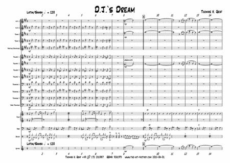 D.J.s Dream - Latin/Samba - Big Band