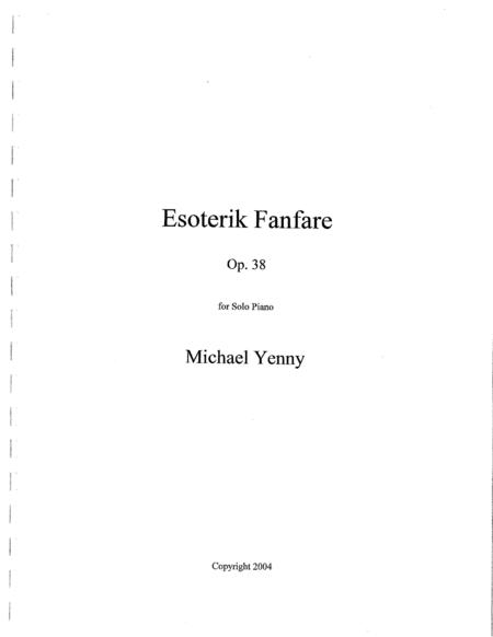 Esoterik Fanfare, op. 38