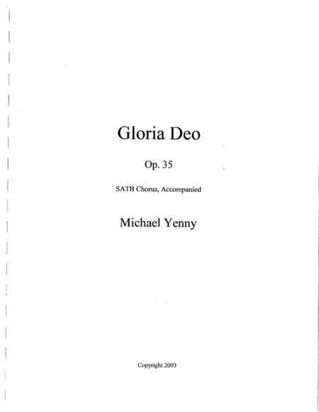 Gloria Deo, op. 35