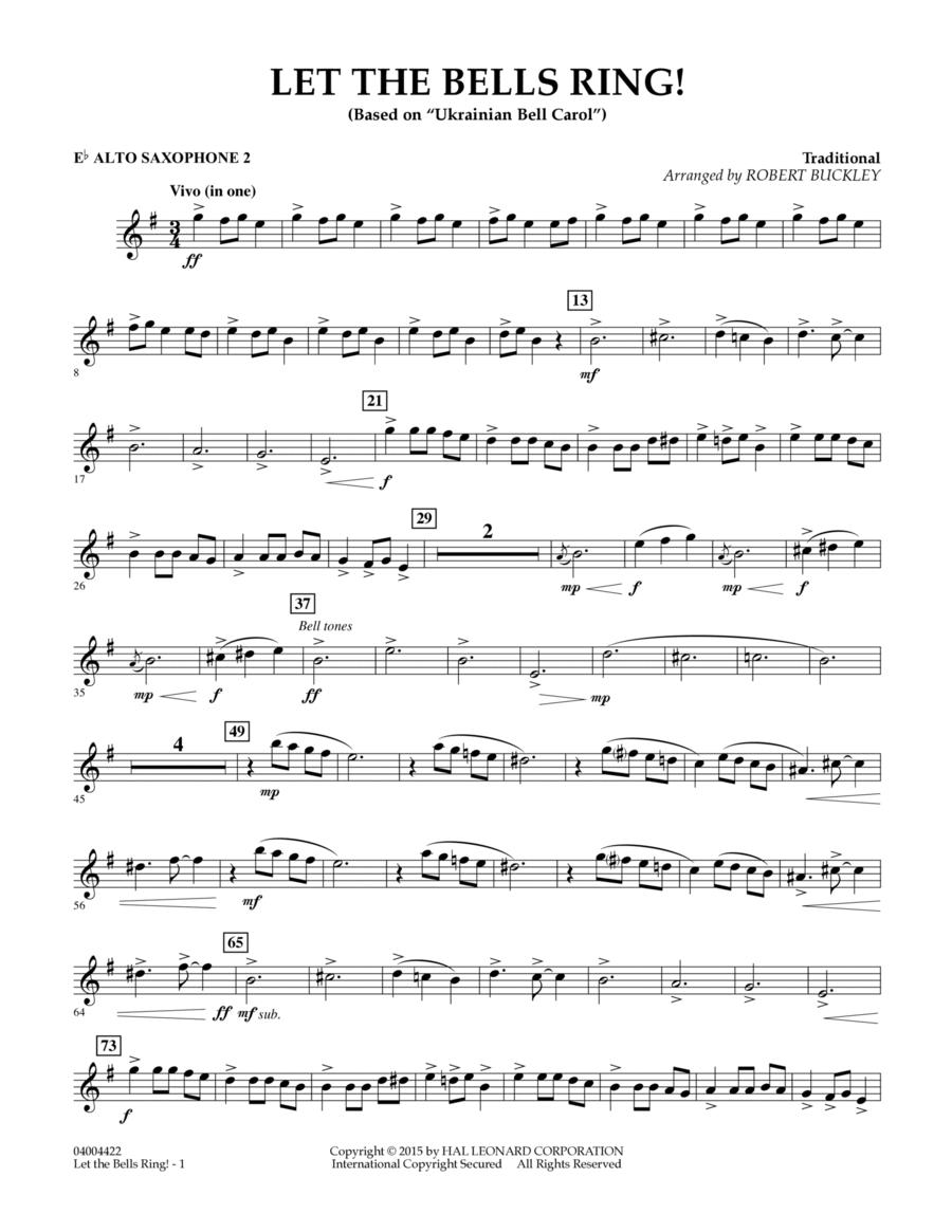 Let the Bells Ring! - Eb Alto Saxophone 2