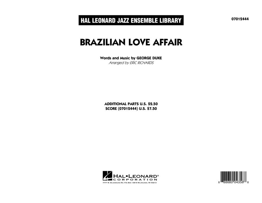 Brazilian Love Affair - Conductor Score (Full Score)