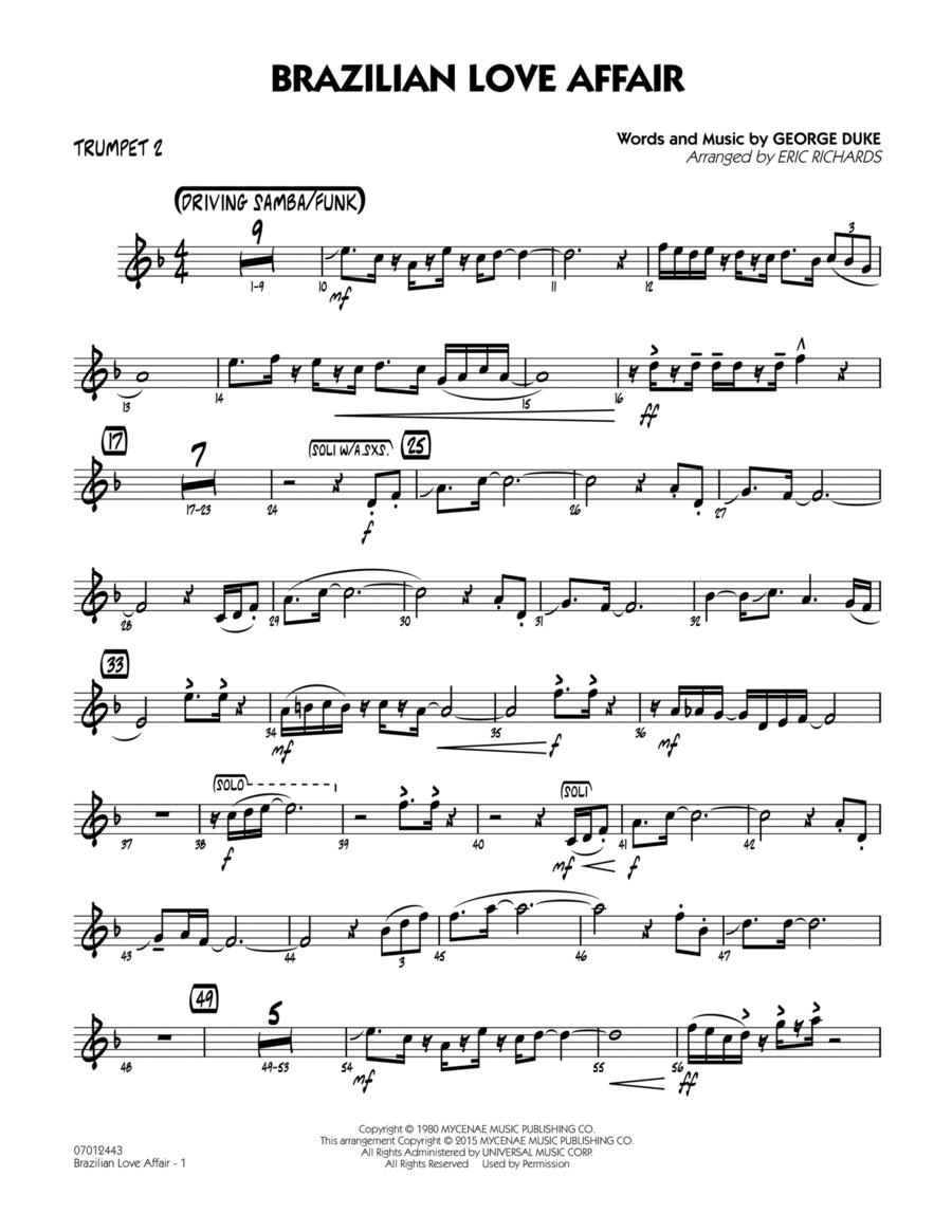 Brazilian Love Affair - Trumpet 2