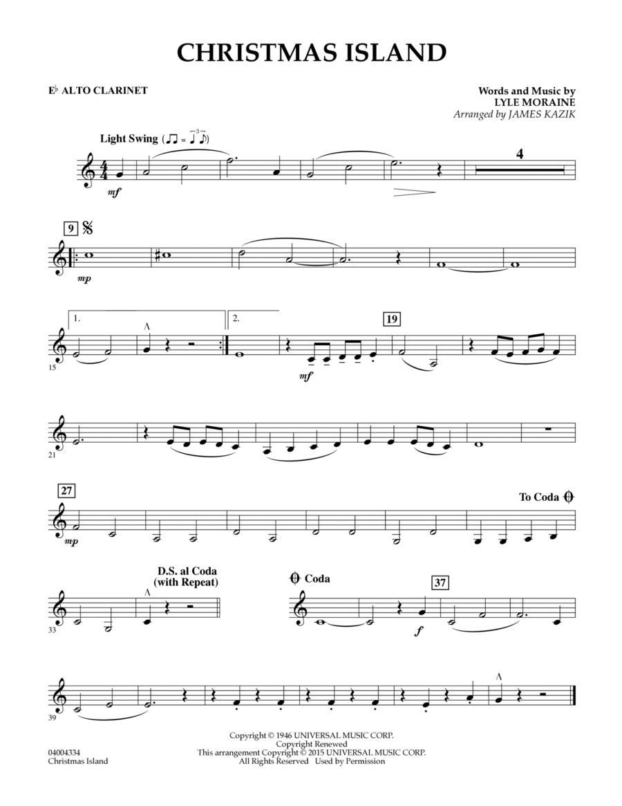 Christmas Island - Eb Alto Clarinet