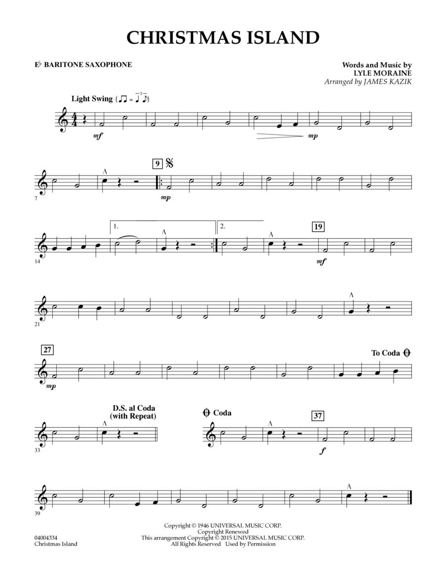 Christmas Island - Eb Baritone Saxophone