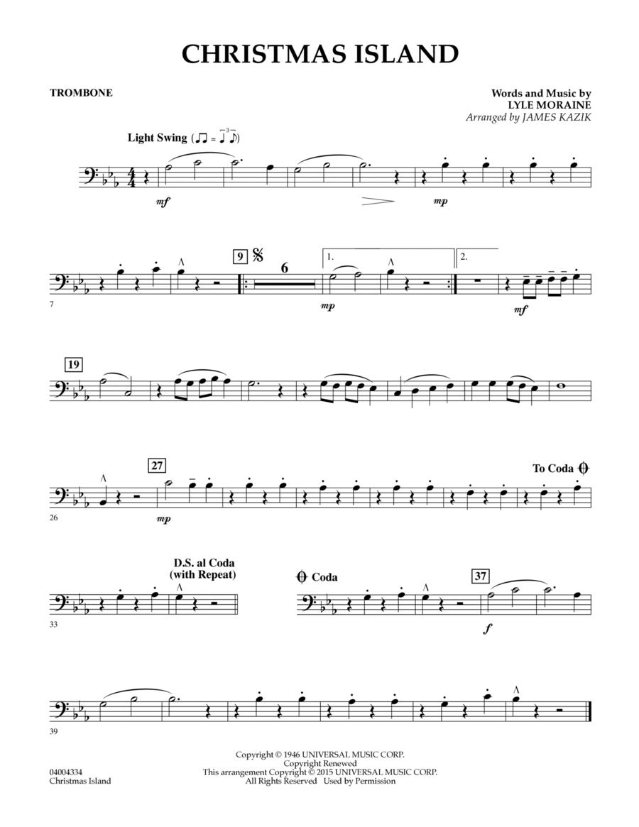 Christmas Island - Trombone