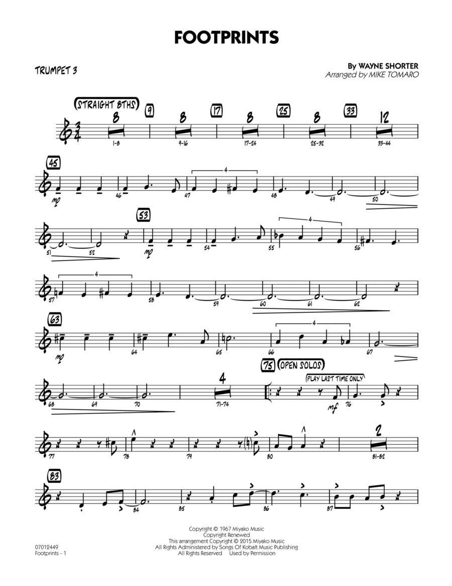 Footprints - Trumpet 3