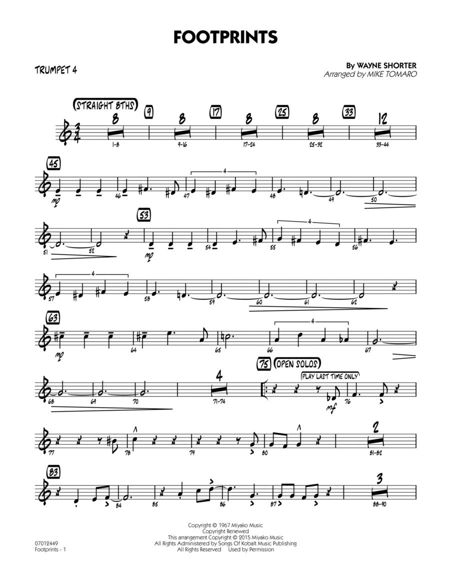 Footprints - Trumpet 4