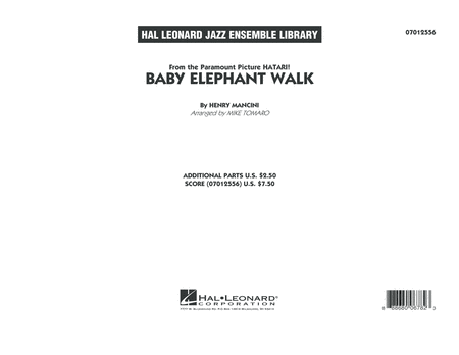 Baby Elephant Walk - Conductor Score (Full Score)