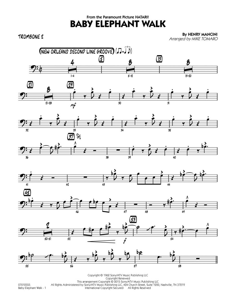 Baby Elephant Walk - Trombone 2
