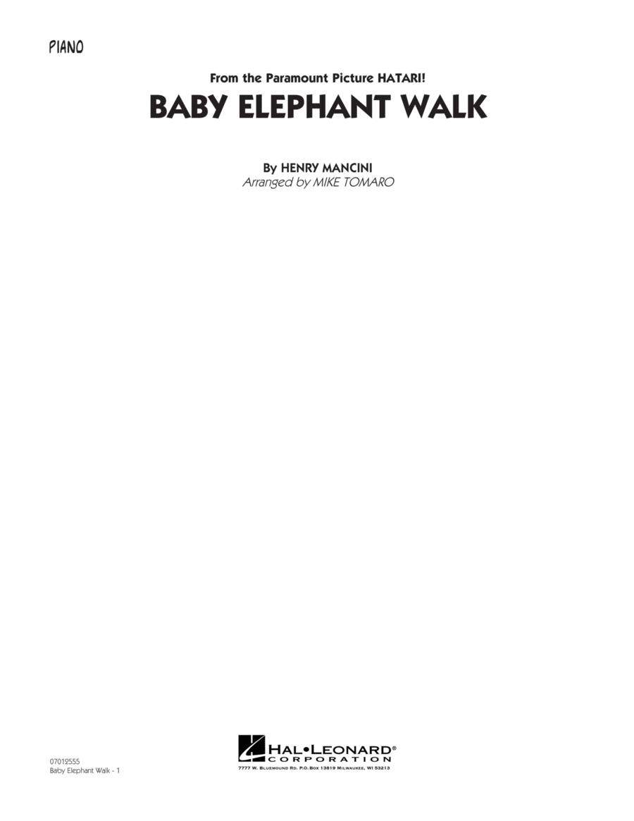Baby Elephant Walk - Piano