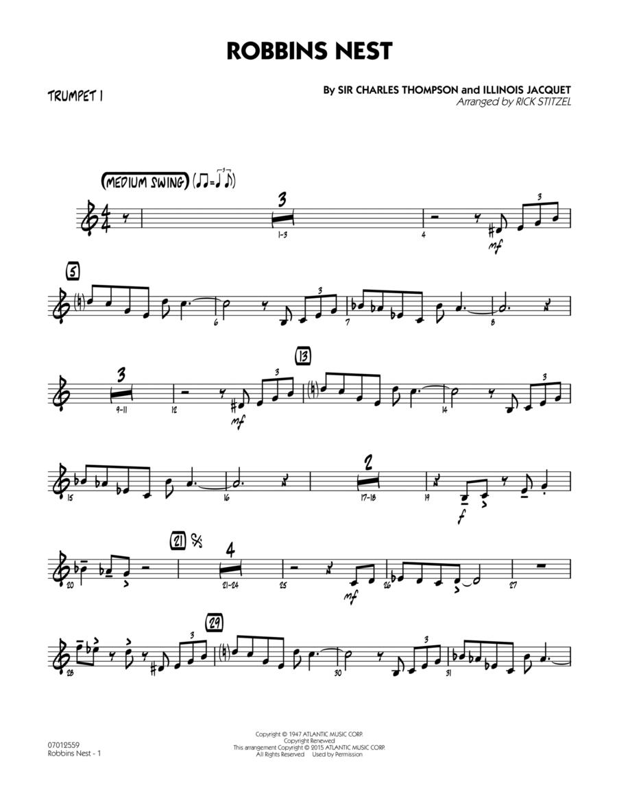 Robbins Nest - Trumpet 1