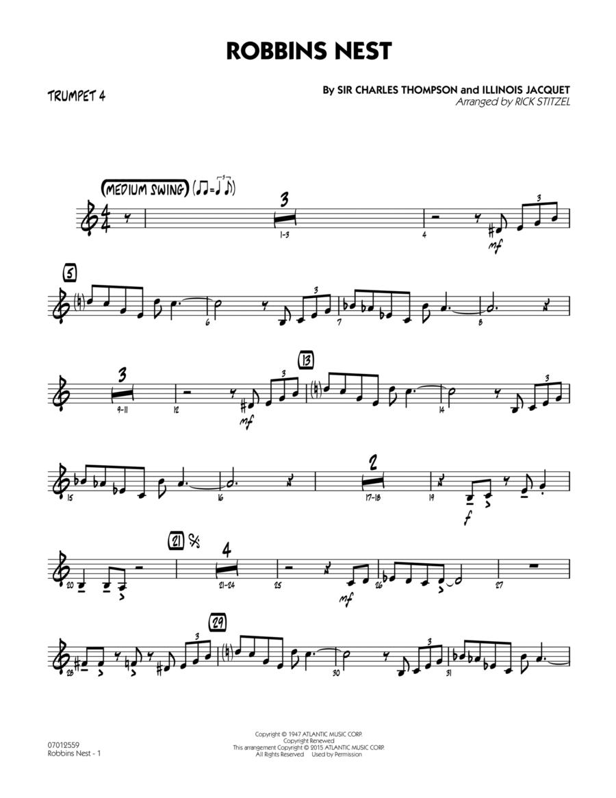 Robbins Nest - Trumpet 4