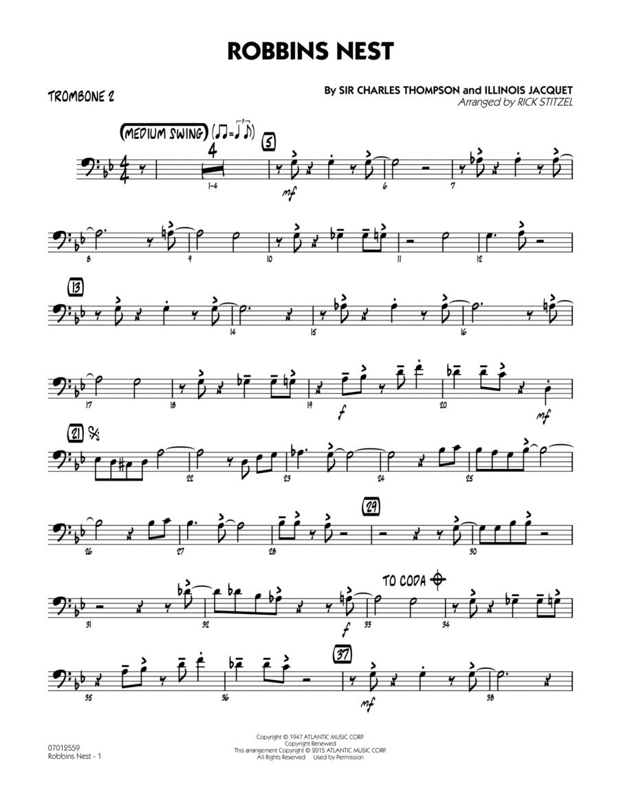 Robbins Nest - Trombone 2