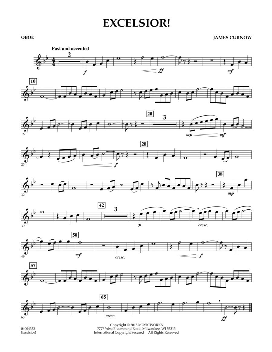 Excelsior! - Oboe