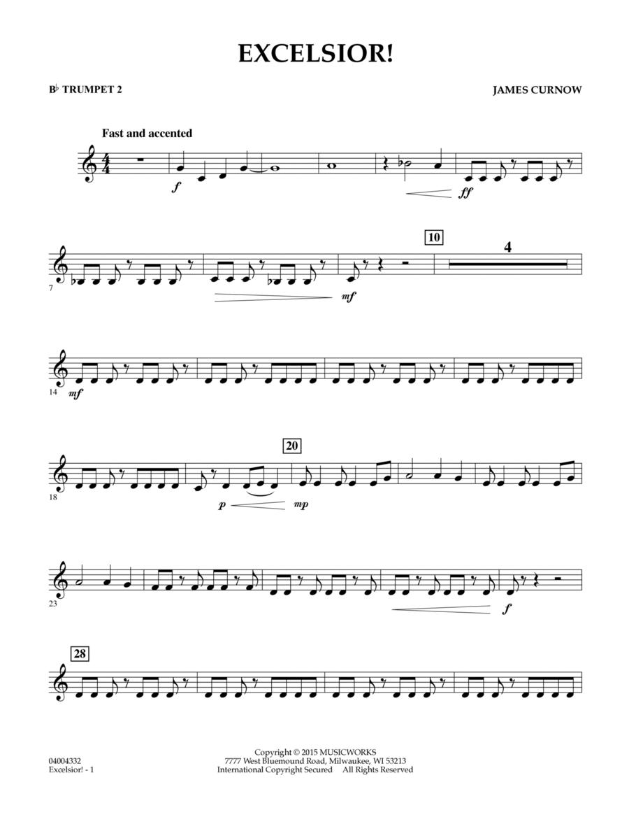 Excelsior! - Bb Trumpet 2