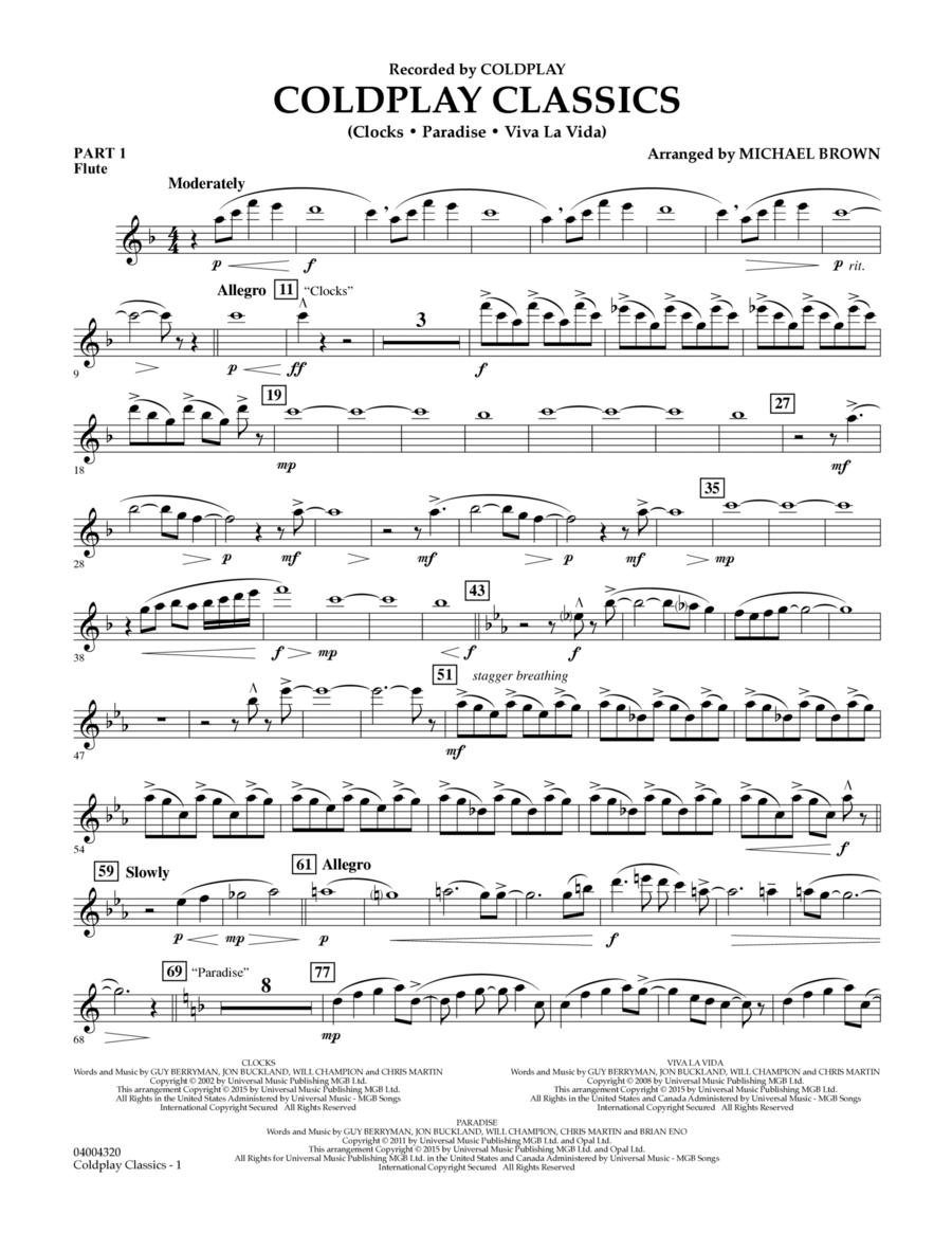 Coldplay Classics - Pt.1 - Flute