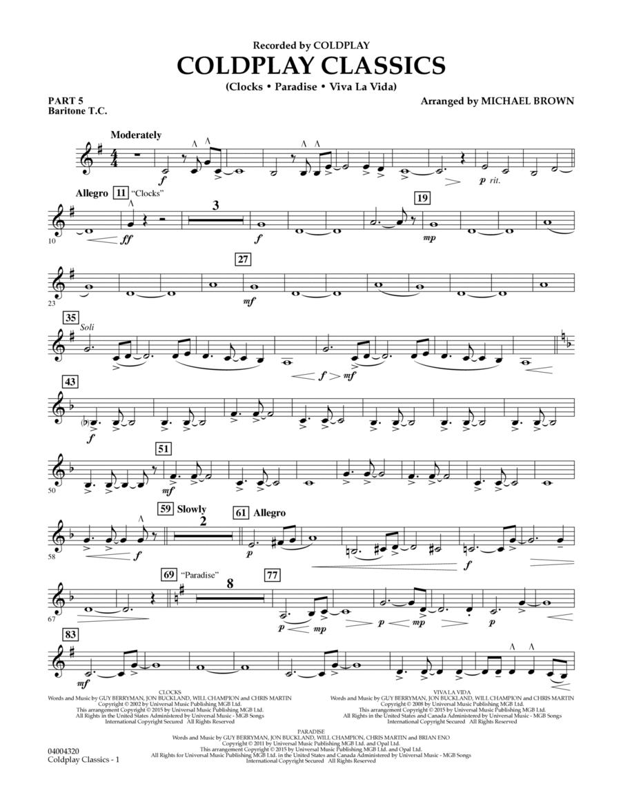 Coldplay Classics - Pt.5 - Baritone T.C.