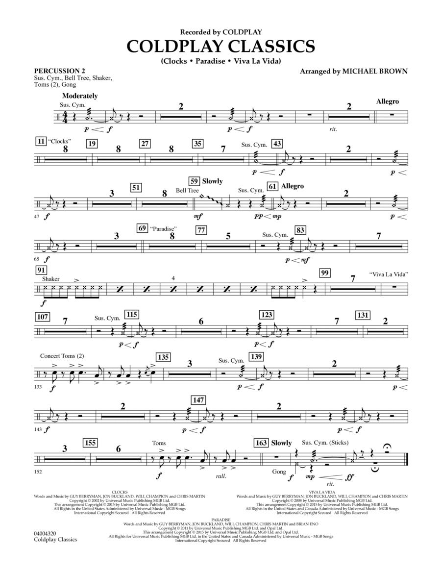 Coldplay Classics - Percussion 2