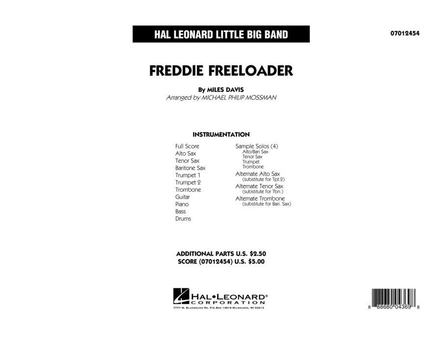 Freddie Freeloader - Full Score