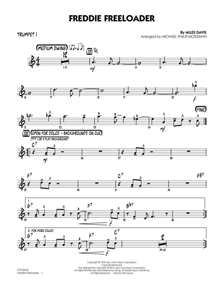 Freddie Freeloader - Trumpet 1