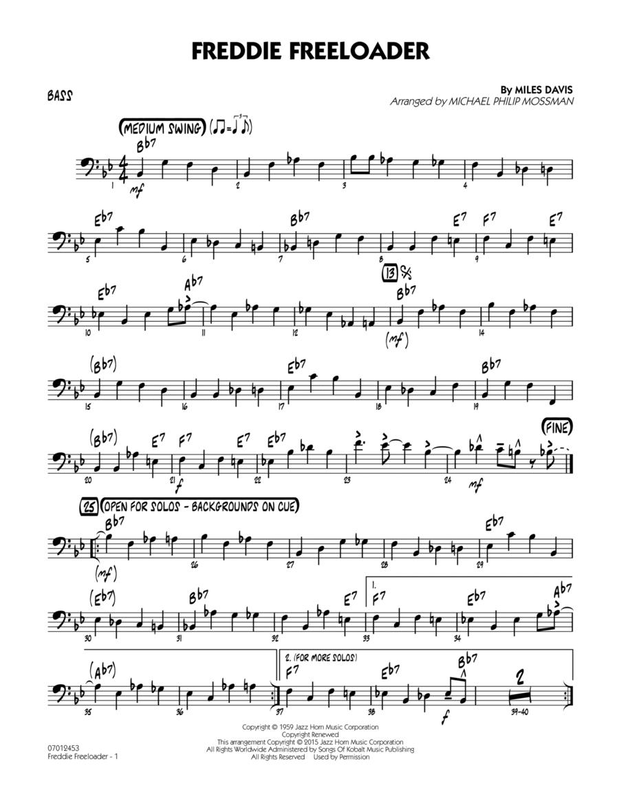 Freddie Freeloader - Bass