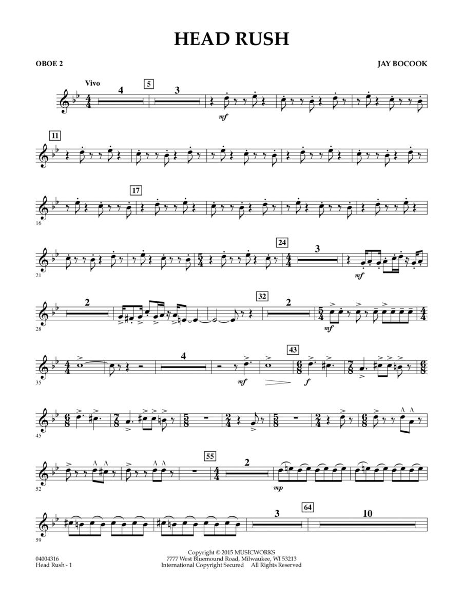 Head Rush - Oboe 2