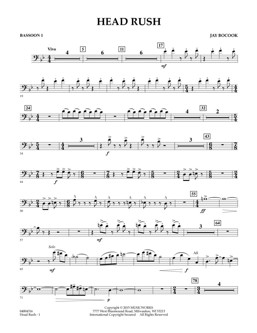 Head Rush - Bassoon 1
