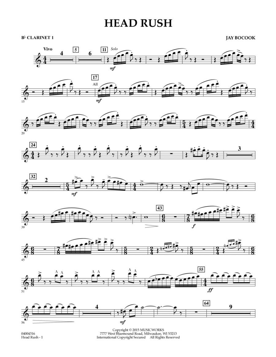 Head Rush - Bb Clarinet 1