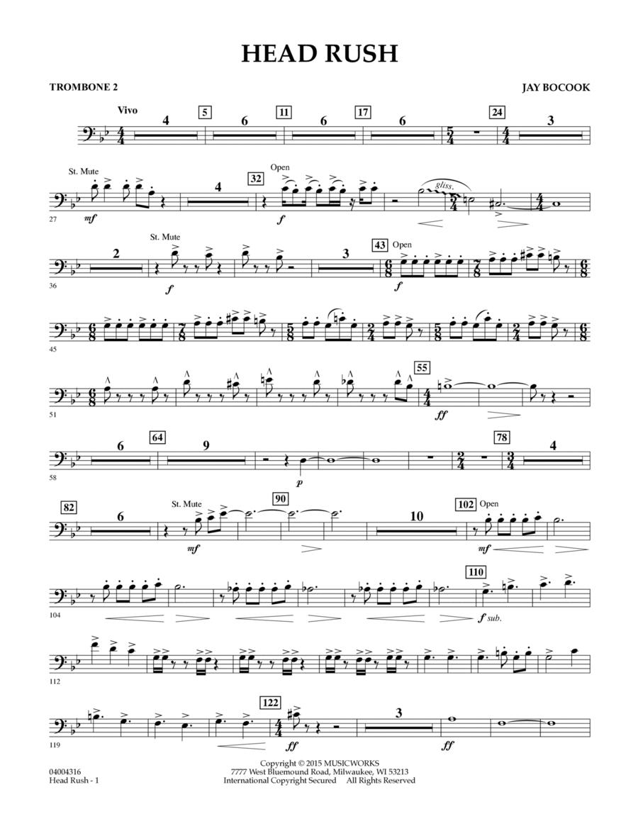 Head Rush - Trombone 2