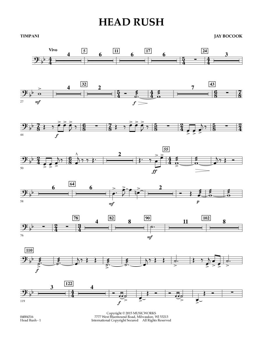 Head Rush - Timpani