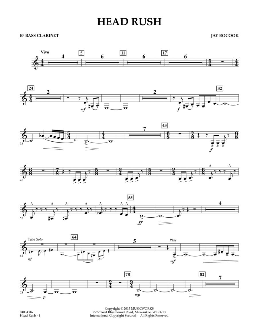 Head Rush - Bb Bass Clarinet