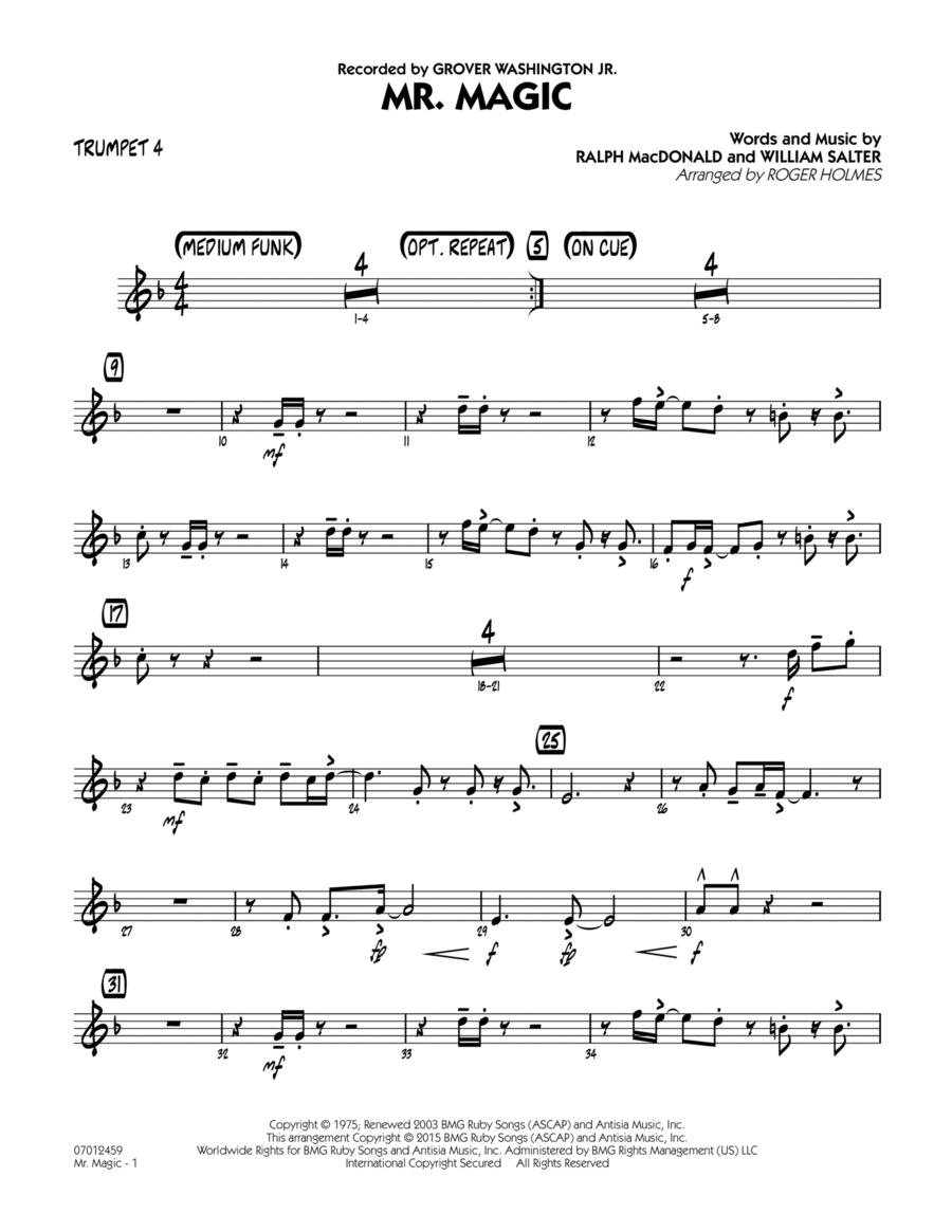 Mister Magic (Mr. Magic) - Trumpet 4