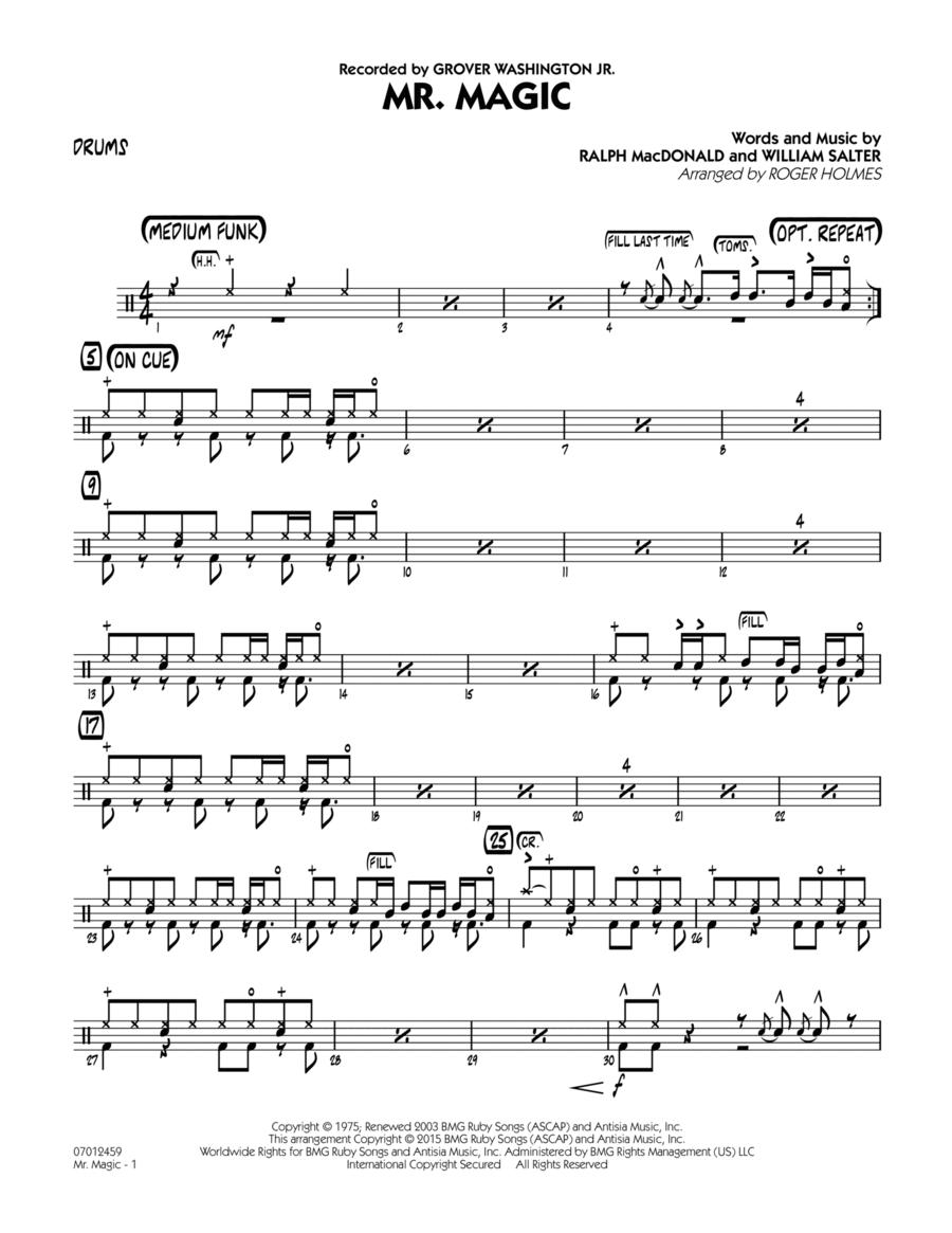 Mister Magic (Mr. Magic) - Drums