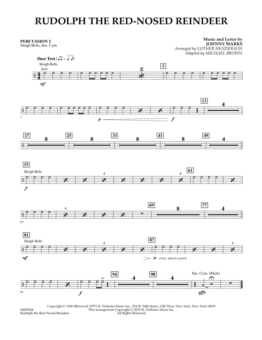 Harmonica harmonica tabs rudolph red nosed reindeer : Download Rudolph The Red-Nosed Reindeer (Canadian Brass ...