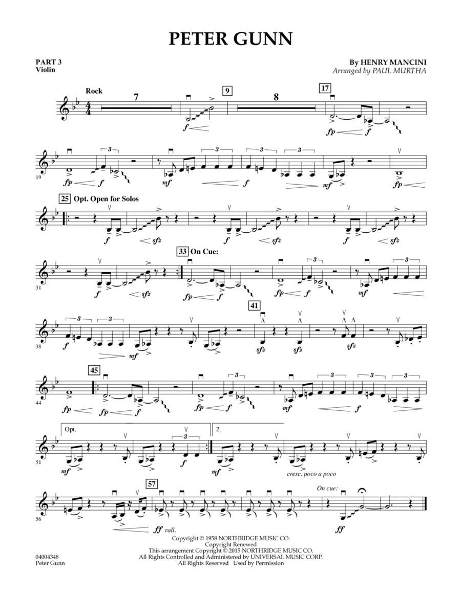 Peter Gunn - Pt.3 - Violin