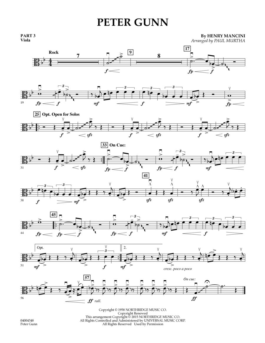 Peter Gunn - Pt.3 - Viola
