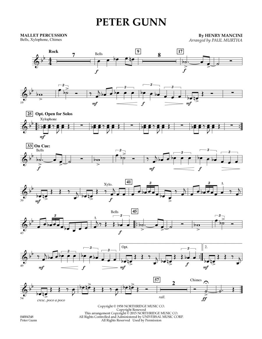 Peter Gunn - Mallet Percussion
